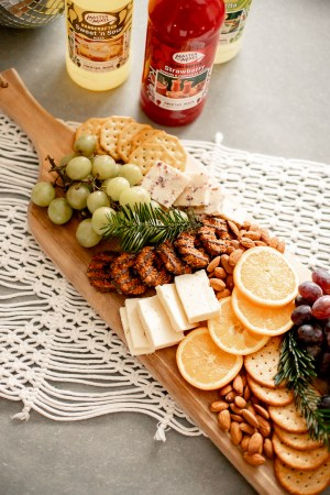 Holiday Survival Kit with Master of Mixes | The Glitter Gospel, Charcuterie Board, Cranberry Margarita Recipe, Holiday entertaining ideas, holiday hostess ideas.