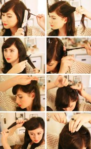 1940s hair tutorial