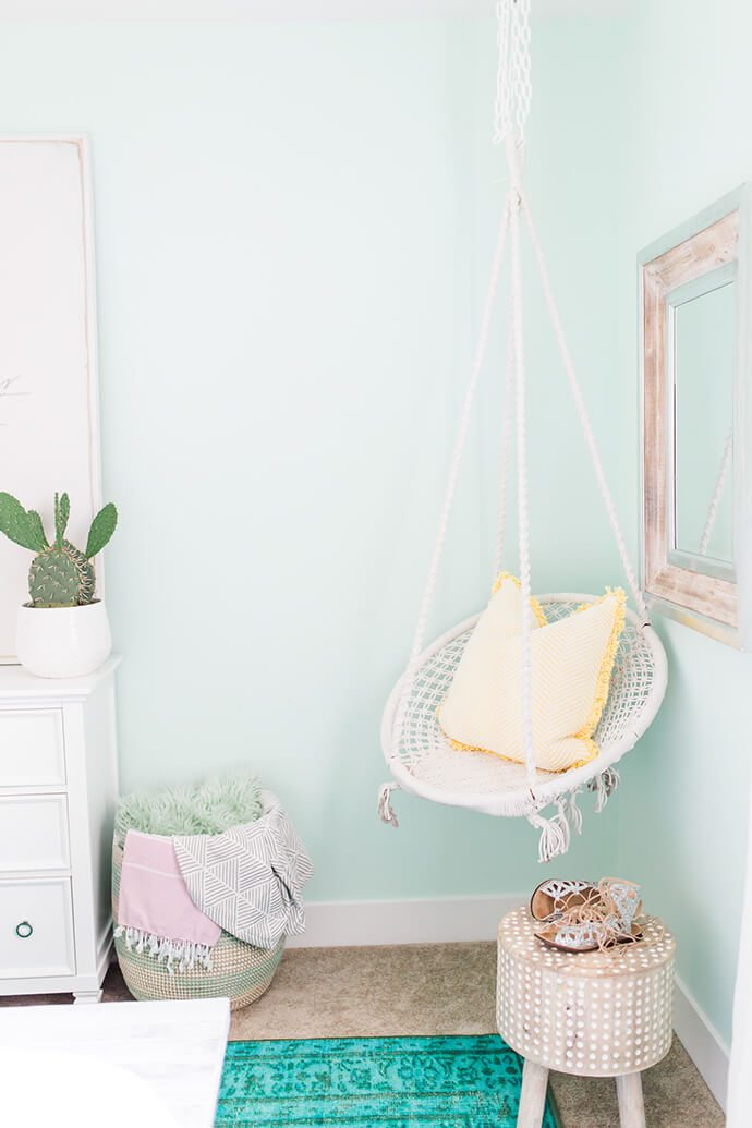 hanging chair for bedroom target aluminum patio 5 steps to a beautiful | glitter guide