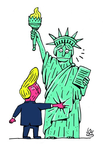 trump-and-statue