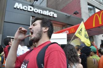 Fast Food Workers Super Size Their Walkout