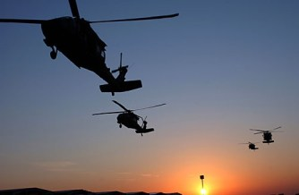 Martial Law Drills Taking Place Nationwide — Black Helicopters Descend on Cities at Night