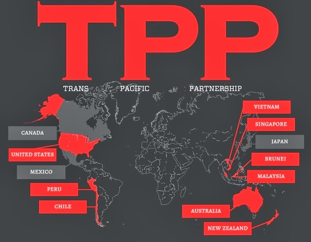 tpp free trade internet
