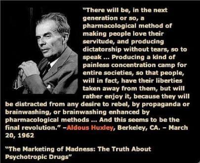 Aldous Huxley Quote 1
