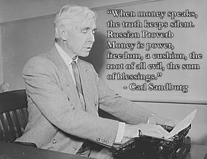 Carl Sandburg Quote