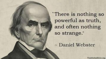 Daniel Webster Quote Truth