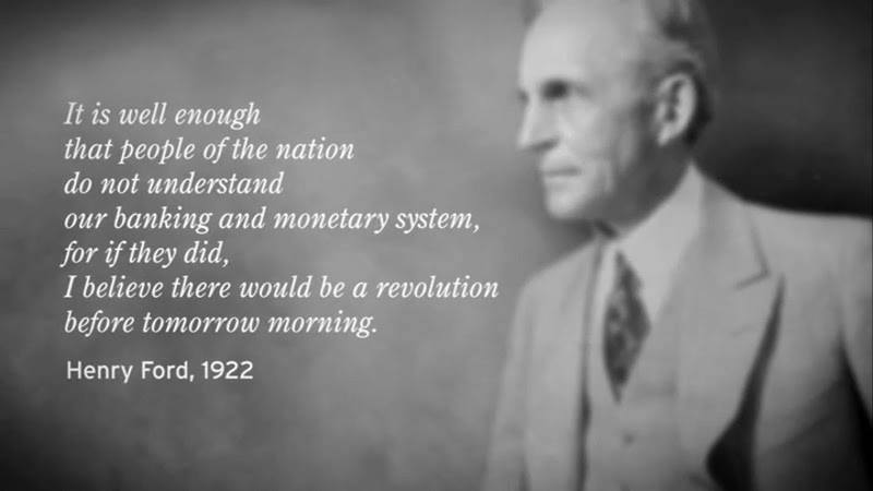 henry ford quote - the global elite