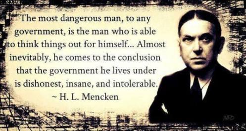 HL Mencken Quote