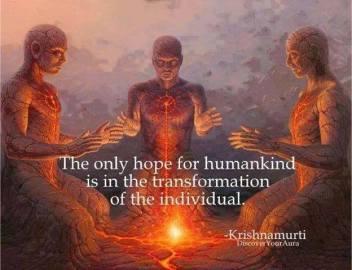 Krishnamuri Quote