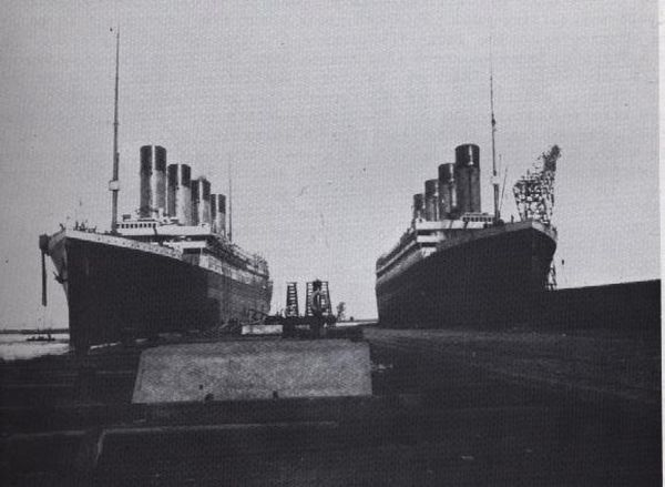 "The Olympic and Titanic were nearly Identical ships. Since the Olympic was damaged beyond repair, they increased their insurance policy, and then switched it for the ""Titanic's"" maiden voyage so they could murder the opposition to the Federal Reserve and collect the insurance money."