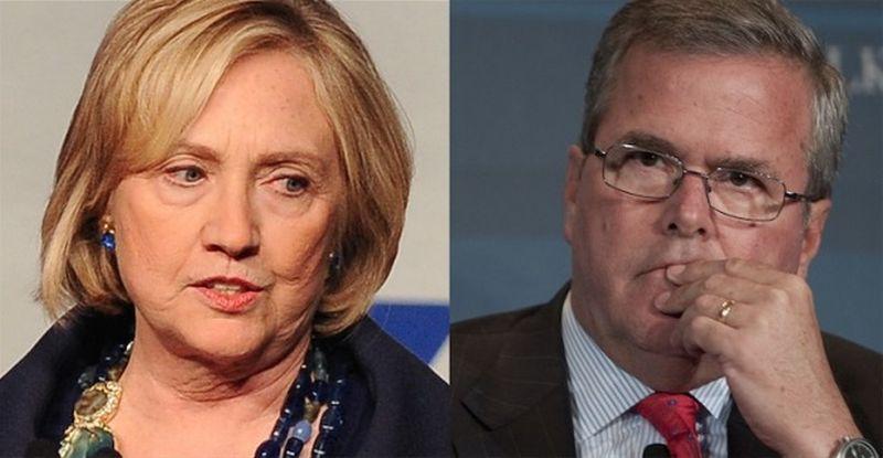 Hillary-Clinton-Jeb-Bush-2016-election