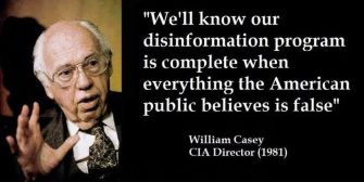 Propaganda and Disinformation: How the CIA Manufactures History