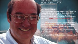 Bill Cooper Predicted 9/11, Was Killed Shortly After