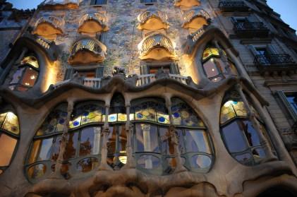Casa Batllo - up close