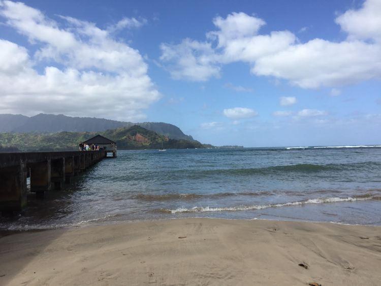 The Hanalei Pier, Kauai