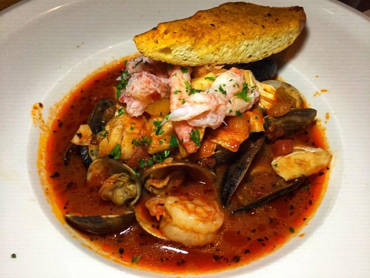 Bluewater Grill Cioppino European Fish Stew