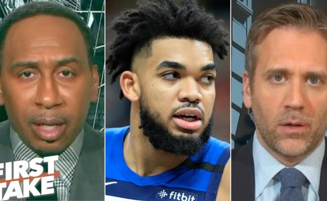 First Take Reacts To Karl Anthony Towns Revealing His