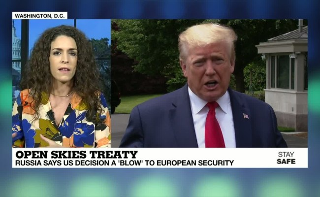 Open Skies Treaty Us Says It S Pulling Out Of Arms
