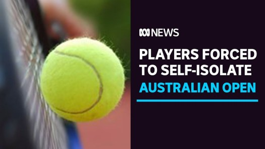 Australian Open tennis players forced into lockdown after ...