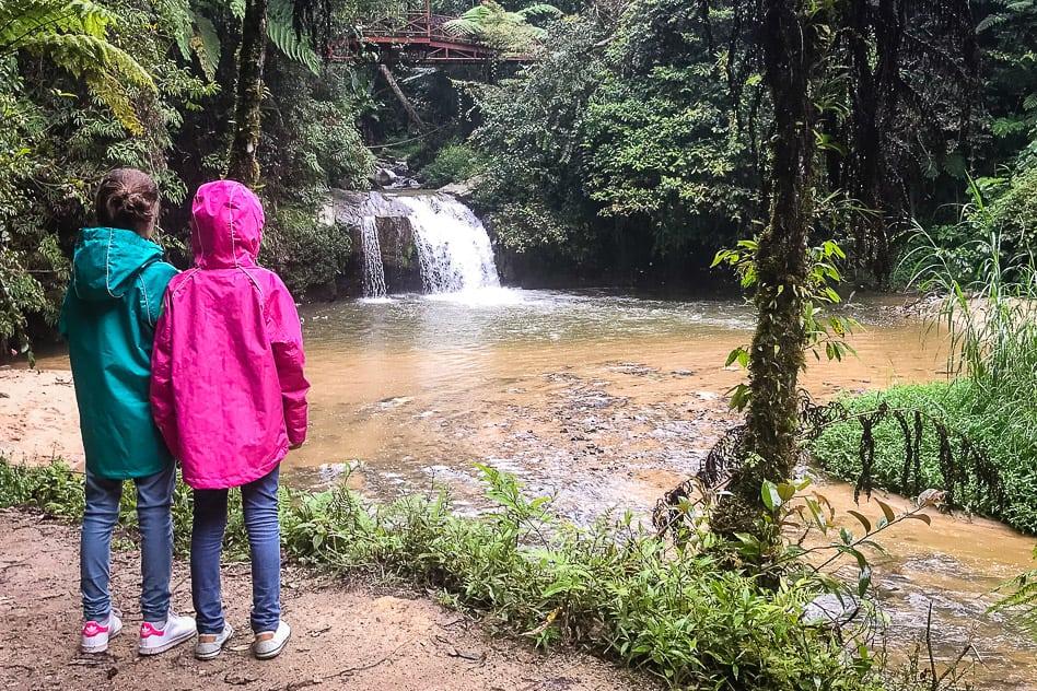 Parit Falls Kids Tanah Rata Cameron Highlands