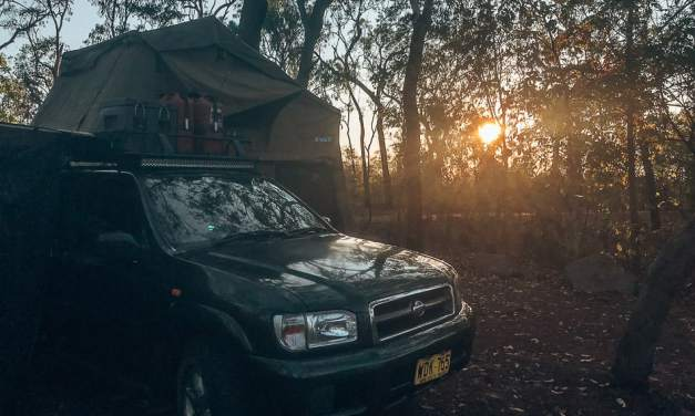 Travel Diary #9: Darwin, Katherine and car trouble