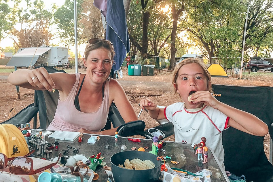 Riverview Campground Katherine Australia Camping