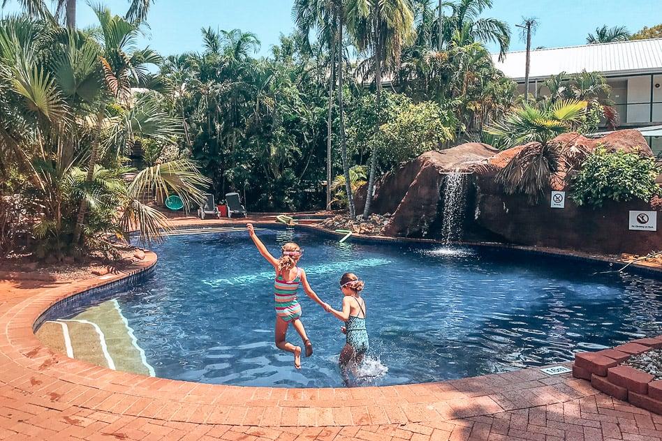 Darwin Travel Lodge Hotel Northern Territory Swimming Pool