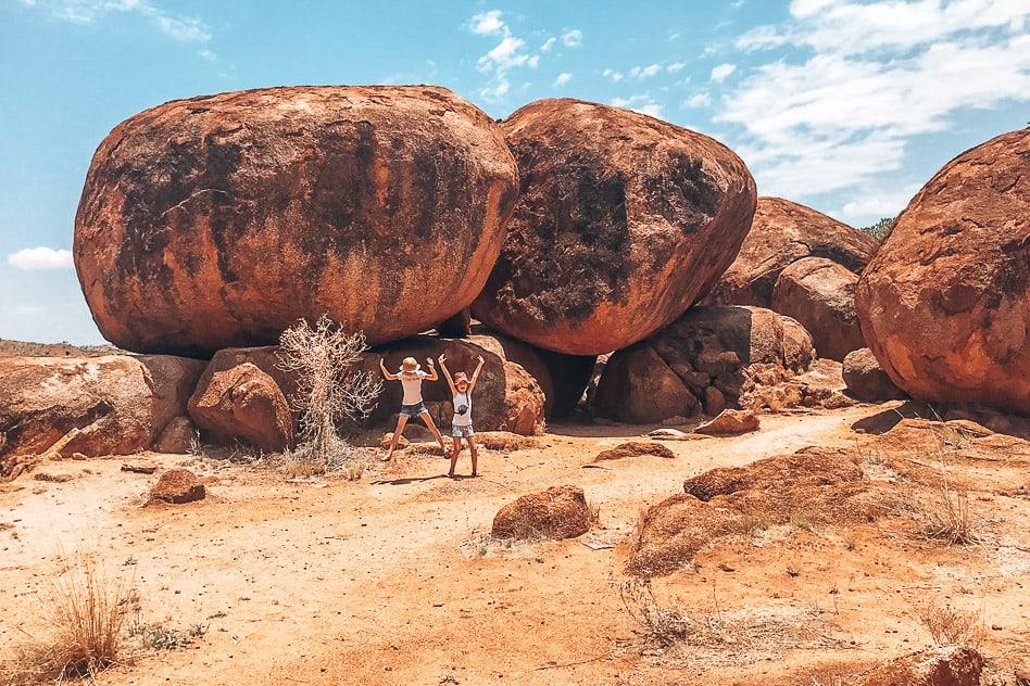 Outback Devils Marbles Stuart Highway