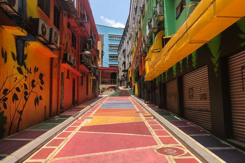 Kuala Lumpur Malaysia Colourful Street Art