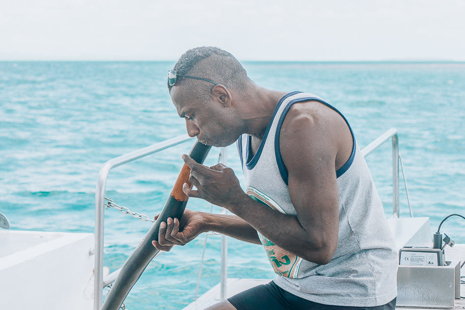 Hervey Bay Eco Marine Tours Local Guide Didgeridoo