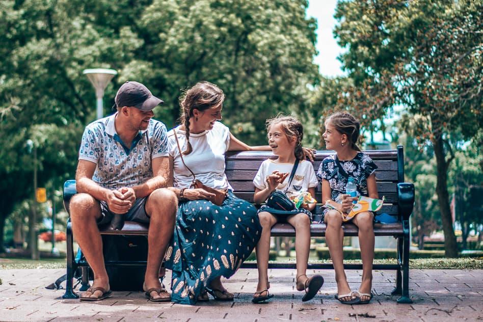 Sydney Lunch Park Family Australia