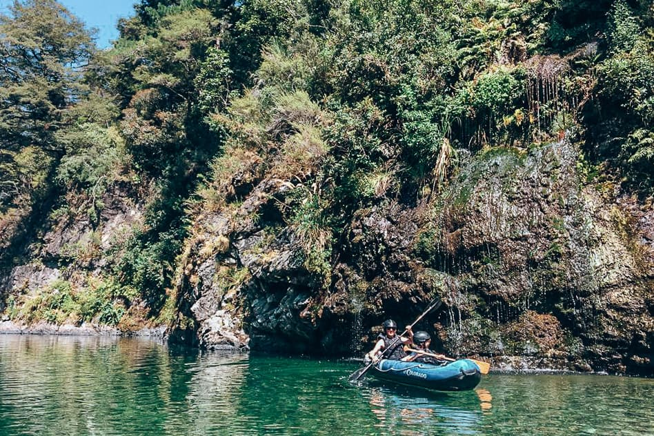 Waterfall Hobbit Kayak Tour Pelorus River Eco Adventures