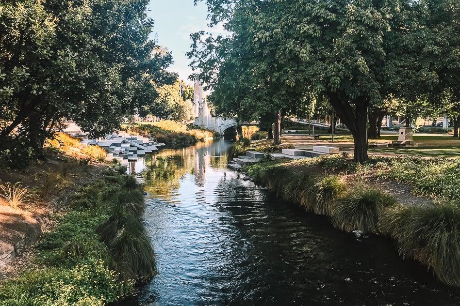 River Green Relax Christchurch Park