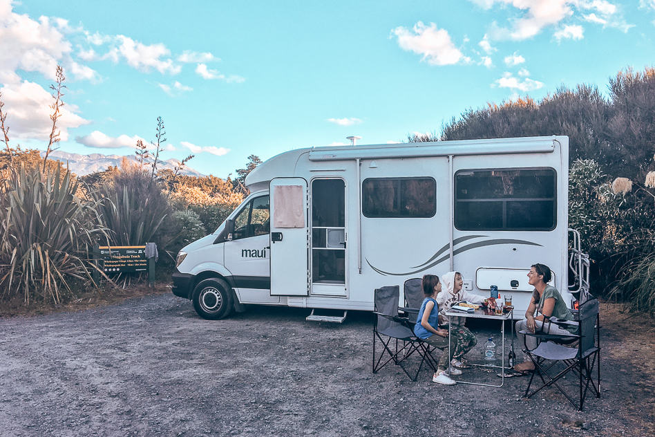 Relocation Campervan New Zealand Free Camping Family Travel Budget