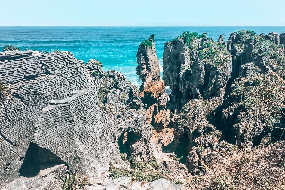 Pancake Rocks New Zealand Southern Island