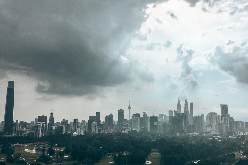 Monsoon in Kuala Lumpur Malaysia is perfect for more affordable vacations