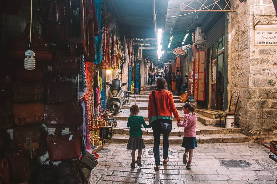 Discovering Jerusalem with kids is a family travel bucket list idea