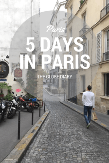 We spent 5 Days in Paris during a Eurotrip in September 2016