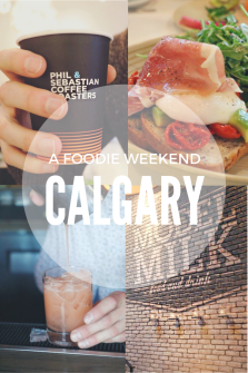 We often race off to Calgary just for the weekend