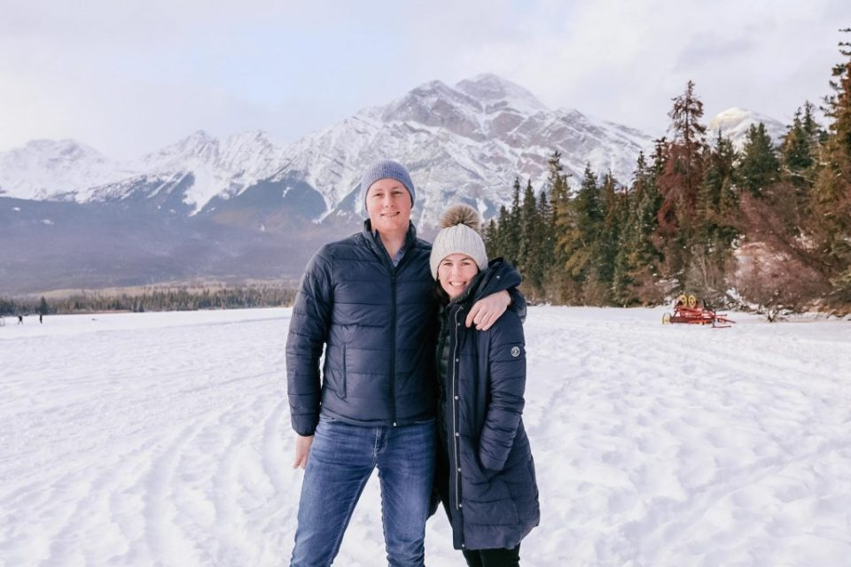 Jasper in January, Winter Guide, Travel Couple