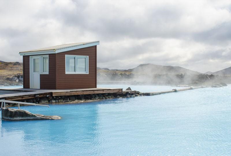 Bain chaud en Islande