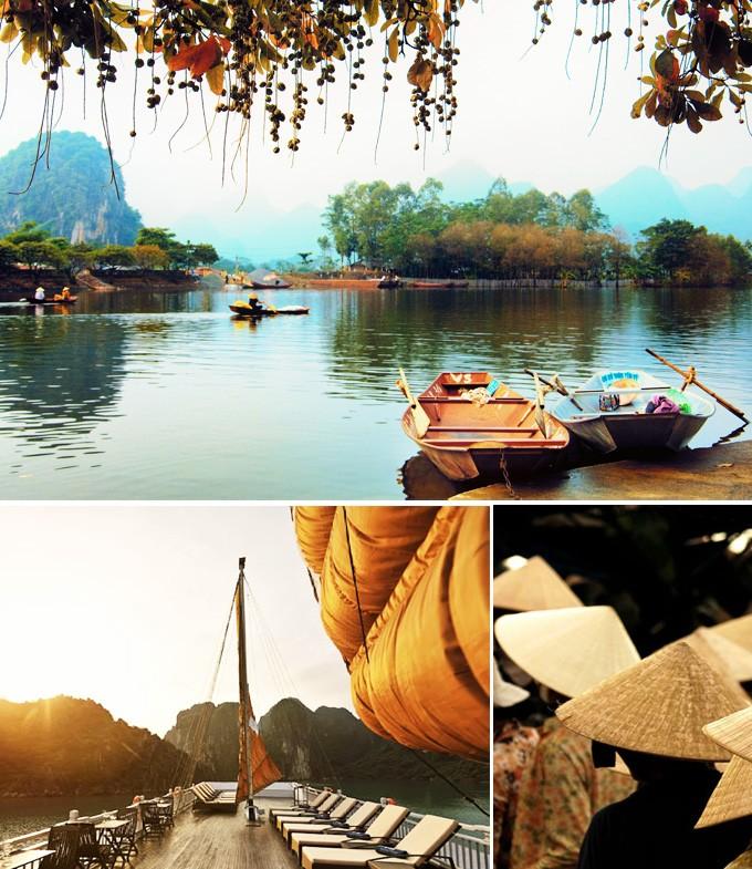 Les trois activités à faire en Vietnam