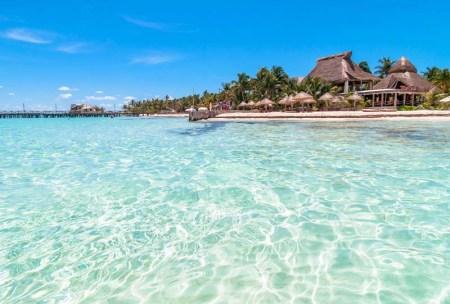 ile isla mujeres mexique yucatan plage