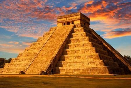 chichen itza pyramide mexique