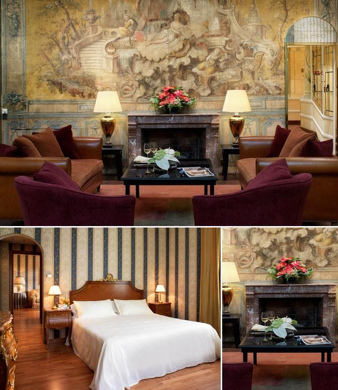 Bernini Bristol hotel rome luxe