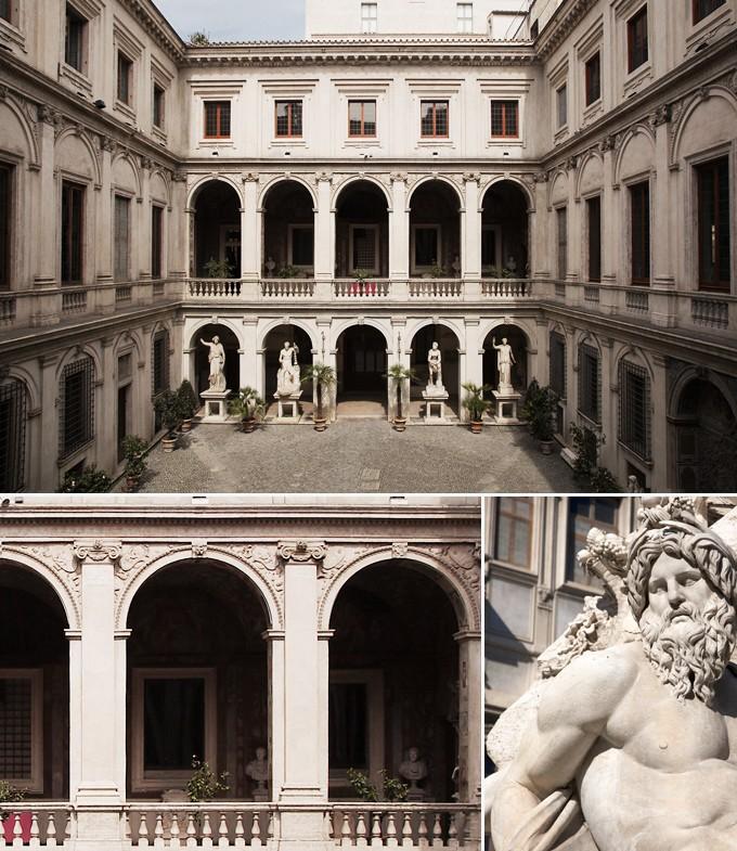 Palazzo Altemps rome italie a faire