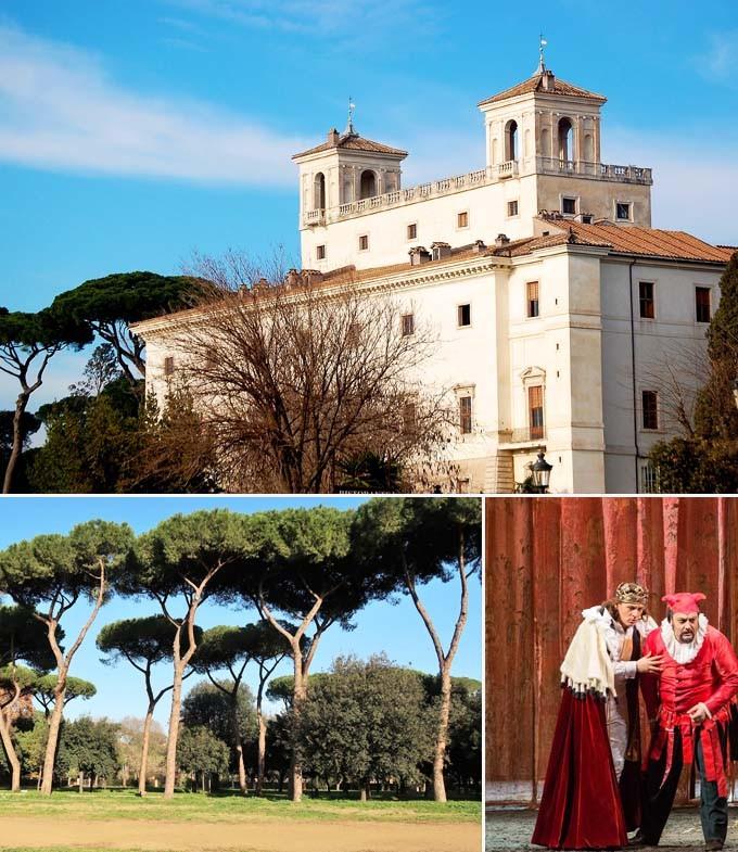 Villa Medicis rome italie a faire
