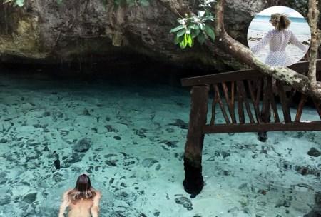 cenote dos ojos mexique yucatan adenorah globe bas Cenote dos ojos Mexique ruines mayas de tulum chichen itza île isla mujeres sejour mexique yucatan a faire