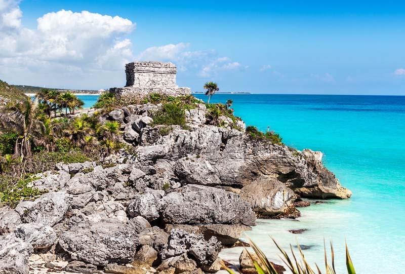 Ruines mayas de Tulum chichen itza cenote dos ojos île isla mujeres mexique yucatan sejour voyage circuit