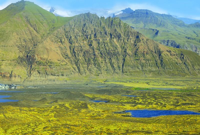 A voir Parc national de Skaftafell Islande
